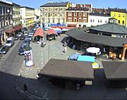 Monitoring megapikselowy na Placu Nowym w Krakowie