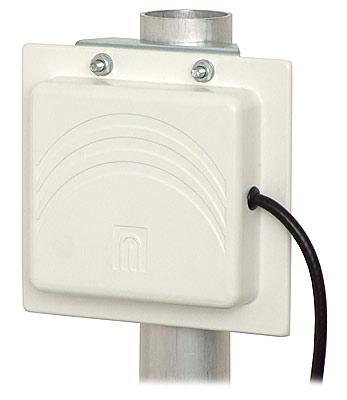 Antena mikropaskowa panelowa ATK-P1/2,4GHz + 5 m przewodu + wtyk SMA R/P 8 dB