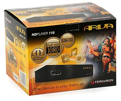 Odtwarzacz multimedialny Ferguson Ariva HD player 110