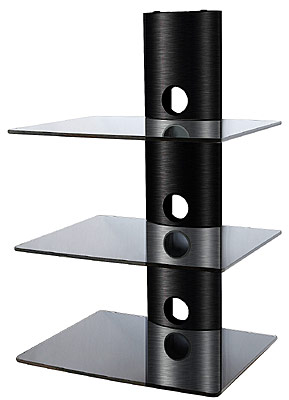 DVD Shelf DS-103CB (three levels)
