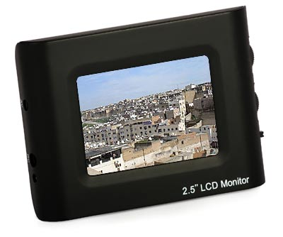 Monitor TFT-2.5 2,5' Video