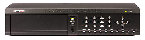 Network DVR: ULTIMAX-716 (H.264, 16 channels)