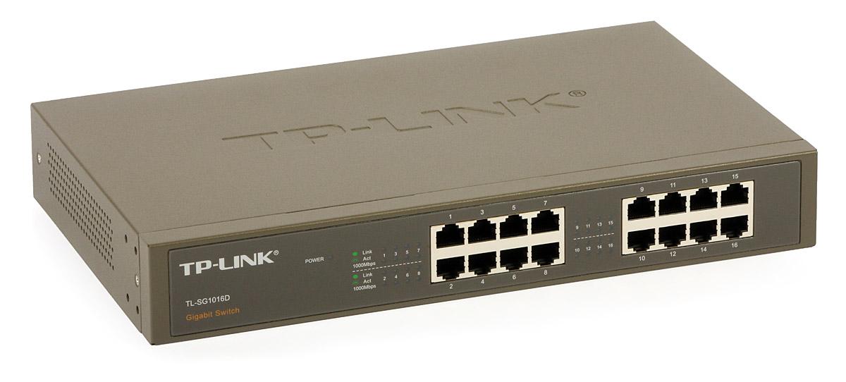 16 Port Gigabit Switch Tp Link Tl Sg1016d