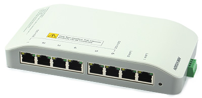 DS-KAD606 Switch PoE do wideodomofonów IP marki Hikvision