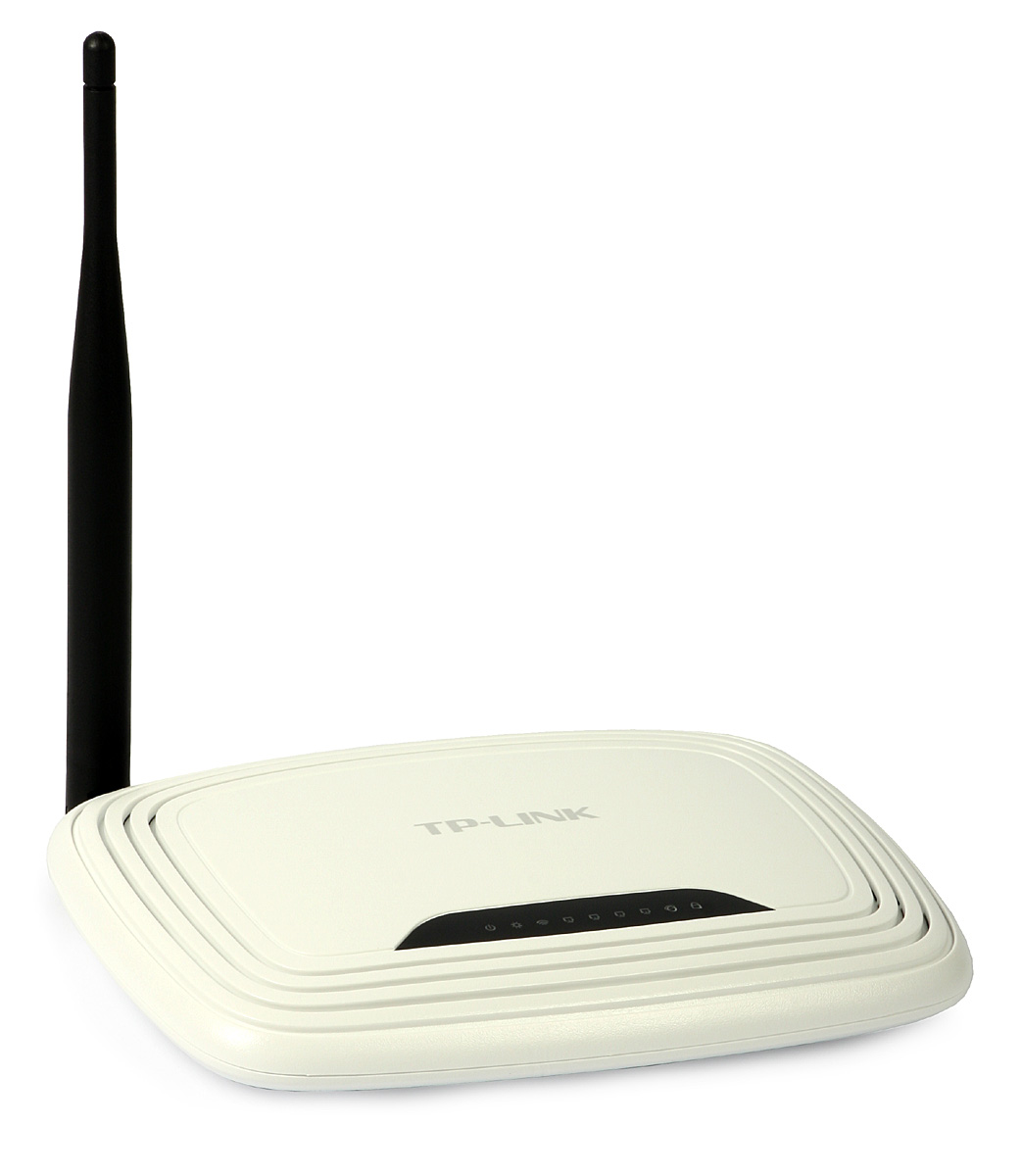 Access Point: TP-Link TL-WR740N (w  router, 4p-switch, 150Mb